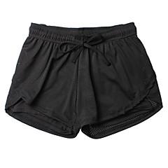 Női Kratke hlače za trčanje Légáteresztő Mekano Sima Tömörítés Alsók mert Fitnessz Futás Fekete S M L XL
