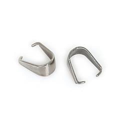 beadia 20db rozsdamentes acél medál klip& óvadék csatlakozó kapcsok ékszer készítés
