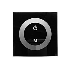 TM06 LED Touch panel Dimmer for Single Color LED Strip (DC12-24V, 8A 1 Kanal Output)