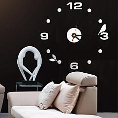 현대/현대 / 오피스/ 비즈니스 주택 / 가족 / 학교/졸업 / 친구 벽 시계,라운드 아크릴 / 유리 40CM/15.7inch 실내 시계