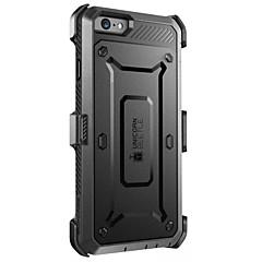 Til iPhone X iPhone 8 iPhone 7 iPhone 7 Plus iPhone 6 Etuier Vand / Dirt / Shock Proof Heldækkende Etui Helfarve Hårdt PC for Apple
