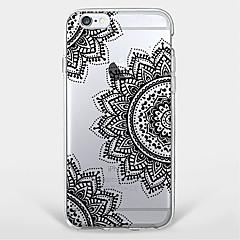 Mert Minta Case Hátlap Case Mandala Puha TPU Apple iPhone 7 Plus / iPhone 7 / iPhone 6s Plus/6 Plus / iPhone 6s/6 / iPhone SE/5s/5
