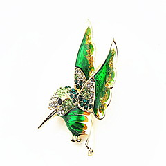 Koreanka ptaka stopu broszka