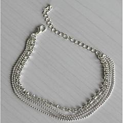 Dame Brățară Gleznă/Brățări Argilă Diamante Artificiale La modă European Multistratificat costum de bijuterii Bijuterii Pentru Zilnic