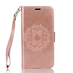 Til xiaomi redmi note 3 fuld body mandala præget læder tegnebog