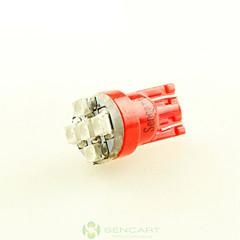 2 x σούπερ κόκκινο T10 194 168 W5W 5x 3528 αυτοκίνητο πλευρά λάμπα φωτός σφήνα ουρά DC12V