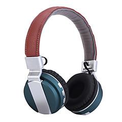 headset trådløse sammenklappelige folde stereo hovedtelefoner med støjreduktion mikrofon& genopladeligt li-ion batteri