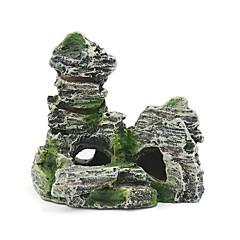 Διακόσμηση Ενυδρείου Στολίδια Βράχοι Τεχνητά Ρητίνη