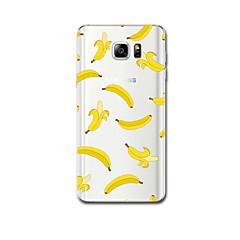 Varten Ultraohut Kuvio Etui Takakuori Etui Hedelmä Pehmeä TPU varten Samsung Note 5 Note 4
