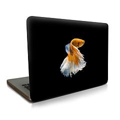 macbook lucht 11 13 / pro13 15 / pro met retina13 15 / macbook12 fish beschreven appellaptop case