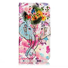 Til huawei p10 lite p8 lite (2017) pu læder materiale blomst som mønster relief telefon taske p10 plus p10 p9 lite p8 lite
