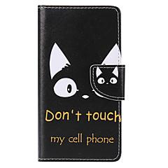 tapauksessa Huawei P10 plus p10 lite kortin haltija lompakon jalustalla läppä malli kokovartalo tapauksessa kissa kova PU nahka p10 P8