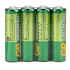 gp green cell Super hiili akku ladattava akku 15g R6P aa 1.5V