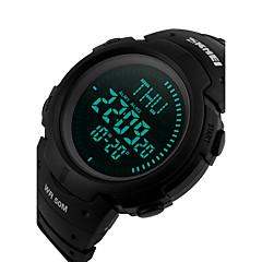 Herre Sportsur Kjoleur Smartur Modeur Armbåndsur Unik Creative Watch Kinesisk Digital LCD Kompas Glide Regel Kalender Kronograf
