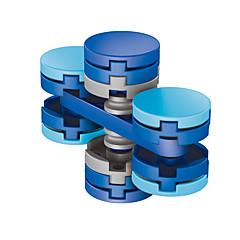 Dikkat Çarkları El iplik makinesi Oyuncaklar Ring Spinner ABS EDCADD, DEHB, Anksiyete, Otizm Giderilir Stres ve Anksiyete Rölyef Ofis