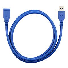 USB 3.0 وصلة تمديد, USB 3.0 to USB 3.0 وصلة تمديد ذكر - انثى 1.5M (5FT)