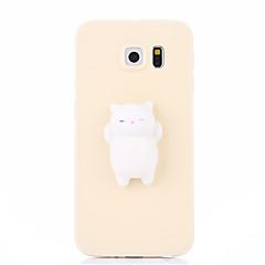 esetében Samsung Galaxy S7 S7 szélén vizenyős diy feszültségcsökkentő esetben hátlapot esetben aranyos 3D-s rajzfilm puha TPU tok Samsung