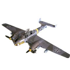 Kit Lucru Manual Puzzle 3D Modelul de hârtie Jucarii Pătrat Aeronavă Reparații Ne Specificat Bucăți