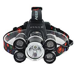 Otsalamput Valojen Hihnat turvavalot LED 3000 Lumenia 1 Tila Cree XM-L T6 Patterit eivät sisälly hintaan Kulma valo Erityiskevyet varten