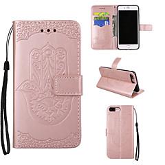 Apple iphone 7 7 és iphone 6s 6 plus tok borítója pálmamintás pu bőr tokok iphone 5s 5 se