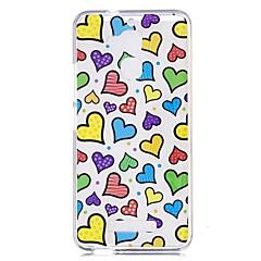 Til xiaomi redmi note 4 note 3 case cover hjerte mønster bagcover soft tpu