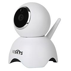 veskys® 960p okos panda wifi ip kamera (1.3mp hd / biztonsági felügyelet aranyos panda modell)