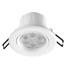 feidiao® 1pc 5w ingebouwde led spot licht celing light warm wit / wit ac220v grootte gat 85mm 350lm 4000k / 6500k