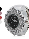 Women\'s Flower Style Alloy Analog Quartz Ring Watch (Assorted Colors) Cool Watches Unique Watches