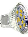 2w gu4 (mr11) led 스포트 라이트 mr11 9 smd 5730 200 lm 따뜻한 흰색 dc 12 v