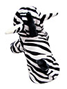 Engraçado bonito 3D Zebra Pattern capuz Suit for Dogs (XS-XL)