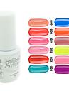 yemannvyou®sequins cor uv gel nail no.13-24 polonês (5ml, cores sortidas)