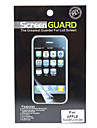 Professional Anti-glare LCD Film Gurad Set with Cleaning Cloth for iPhone 5/5S