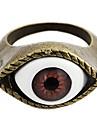 Realistic Resina gótico das mulheres de olho Com Anéis Declaração de Bronze de liga (1 Pc)