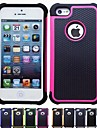 Назначение iPhone X iPhone 8 Кейс для iPhone 5 Чехлы панели Защита от удара Задняя крышка Кейс для Сплошной цвет Мягкий Силикон для