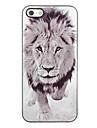 Hard Case Lion Design Aluminium pour iPhone 4/4S