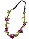 praia casamento boemio partido festival noiva cocar flor floral headbands festao cor aleatoria