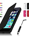 PU Leahter Case & Touch Pen for iPhone 5C (Assorted Colors)