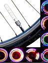 Eclairage de Vélo / bicyclette Éclairage pour roues de vélo Capots de feux clignotants LED Cyclisme bateri sel Lumens Batterie Cyclisme