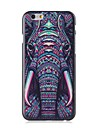 Elonbo Lovely Elephant Plastic Hard Back Cover for iPhone 6
