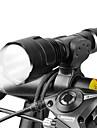 LED손전등 자전거 전조등 LED 싸이클링 조절가능한 초점 18650 루멘 배터리 캠핑/등산/동굴탐험 일상용 사이클링 사냥 낚시 여행 일 의 motocycle-West biking