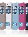 TPU nouvelle couverture en cuir a puce flip de luxe pour iPhone 6 plus (couleurs assorties)