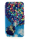 Kinston Colorful Balloons Pattern PU Leather Full Body Cover with Stand for Nokia Lumia 520