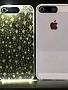 Pour Coque iPhone 6 Coques iPhone 6 Plus Etuis coque LED Motif Coque Arriere Coque Forme Geometrique Flexible Polycarbonate pouriPhone 6s