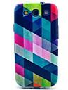 Pour Samsung Galaxy Coque Motif Coque Coque Arriere Coque Forme Geometrique PUT pour Samsung S3