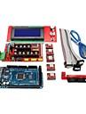 Rampas de controlador de impressora 3D 1.4 + mega2560 r3 + 5 x a4988 + 2004lcd placa controladora para impressora 3D