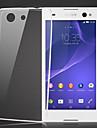 Pour Coque Sony Transparente Coque Coque Arriere Coque Couleur Pleine Flexible TPU pour Sony Sony Xperia Z3 Compact