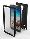 Pour Samsung Galaxy Note Antichoc Etanche a la Poussiere Coque Coque Arriere Coque Armure Polycarbonate pour Samsung Note 4