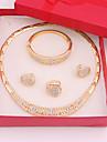 Bijoux-Colliers decoratifs / Boucles d\'oreille / Anneaux / Bracelet(Alliage / Strass)Mariage / Soiree / Quotidien Cadeaux de mariage
