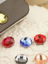 etiqueta de botão de casa de resina para iphone 8 7 samsung galaxy s8 s7 (cor aleatória)