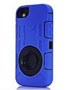 제품 iPhone 8 iPhone 8 Plus iPhone 7 iPhone 7 Plus iPhone 6 iPhone 6 Plus 아이폰5케이스 케이스 커버 충격방지 방진 방수 스탠드 링 홀더 풀 바디 케이스 갑옷 소프트 실리콘 용 Apple
